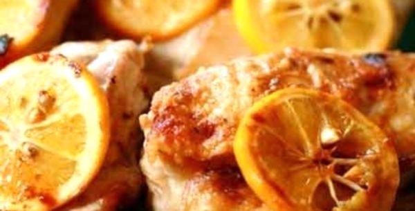 Мясо с лимоном в духовке рецепт
