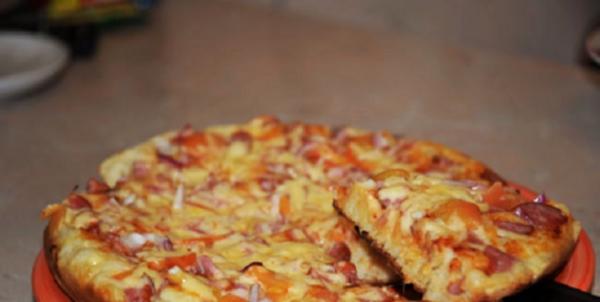 пиццы на скорую руку с фото