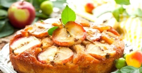 Выпечка на кефире с яблоками рецепт