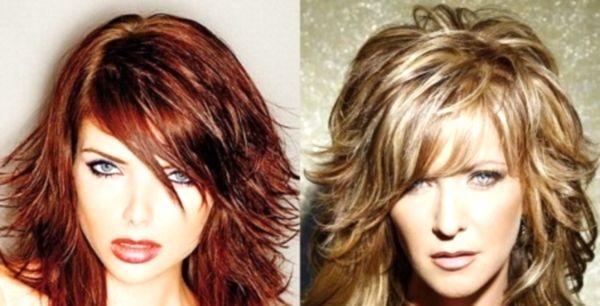 Стрижки для средних тонких вьющихся волос