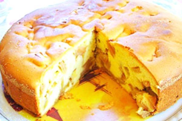 Простая шарлотка с яблоками рецепт со сметаной пошаговый рецепт с