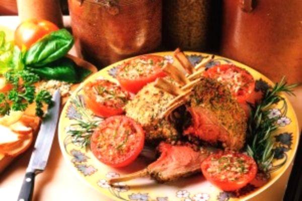 46Бараньи ребрышки корона с картошкой в духовке рецепт