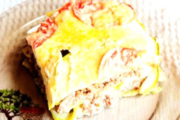 Запеканка из кабачков с помидорами в мультиварке рецепты с фото