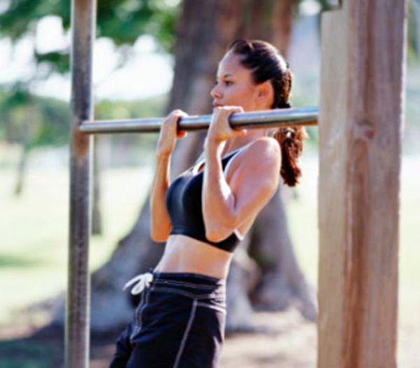 Упражнения на турнике для всех групп мышц. Упражнения на турнике для грудных мышц, для рук, спины и на плечи