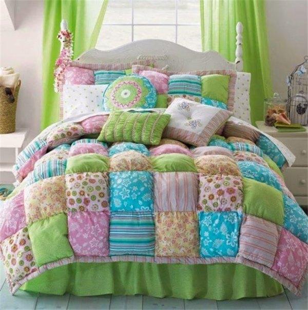 Тёплое одеяло своими руками
