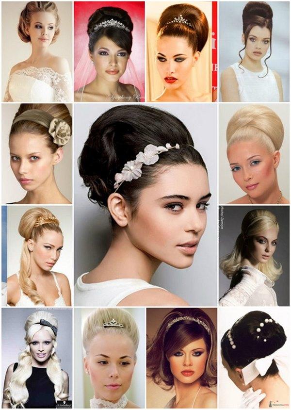 примеры причесок на средние волосы