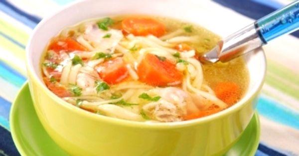 как приготовить суп с вермишелью