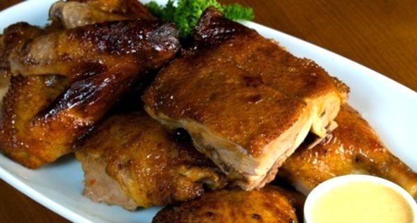 второе блюда из утки