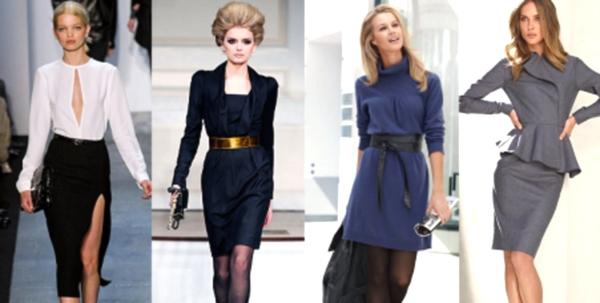 Офисная мода  деловой стиль одежды для женщин 10a1d148c41