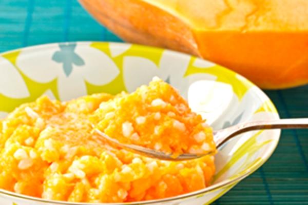 Как готовить рисовую кашу с тыквой