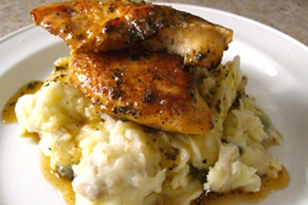 Куриные растрепки рецепт в духовке