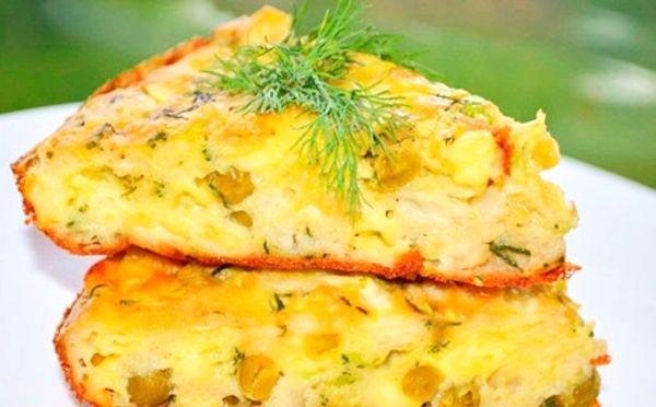 Рецепт запеканки из капусты белокочанной