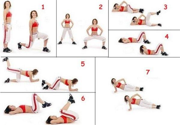 Внутренняя сторона бедра - эффективные упражнения 61