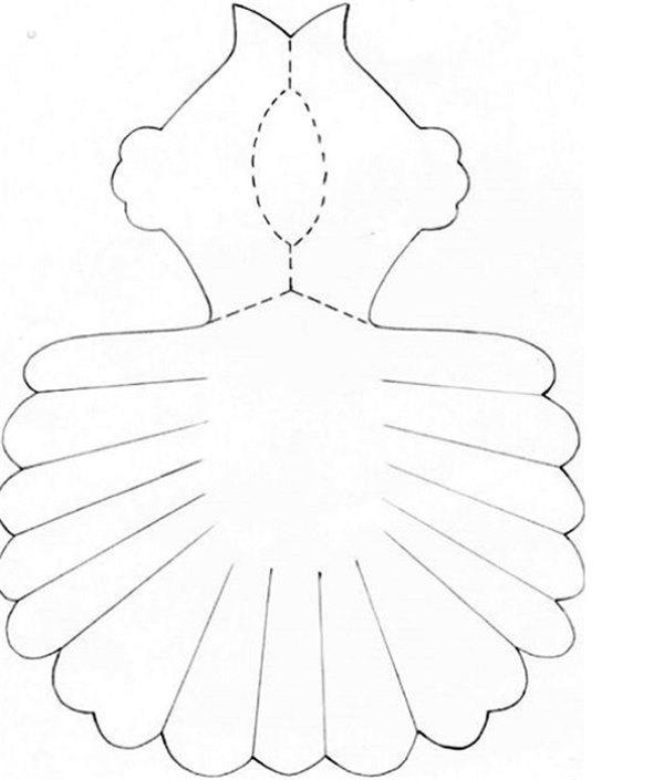 Как сделать объемного голубя из бумаги фото 162