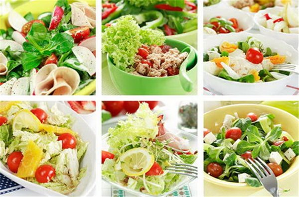 Лучшие диетические рецепты салатов
