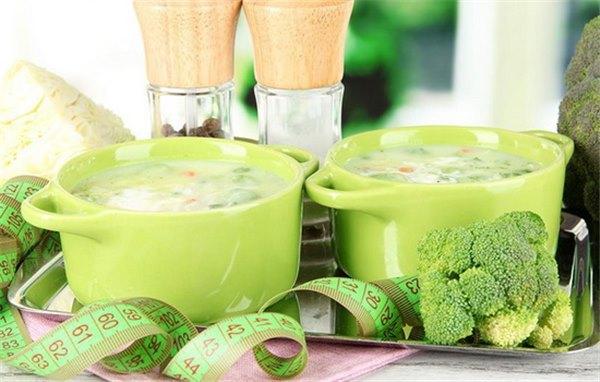 Похудение диета с овощным супом