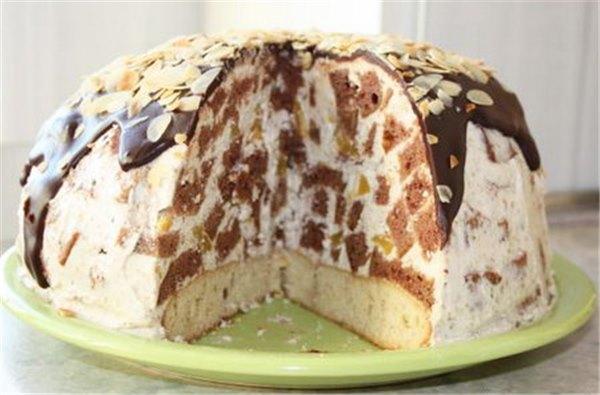 торт санчо панчо из готовых коржей рецепт с фото
