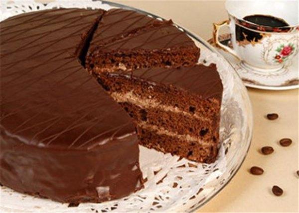 настоящий рецепт торт старая прага с манкой