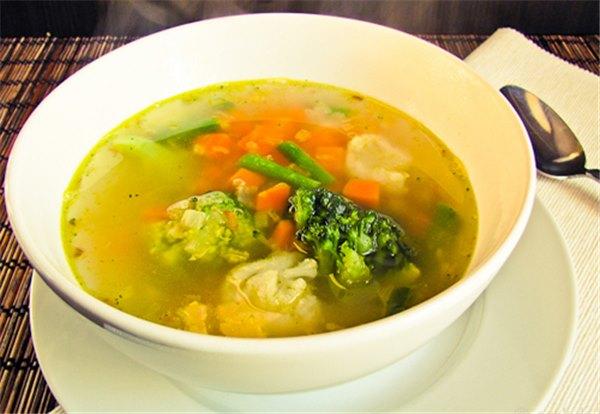 Диет питание овощные супы